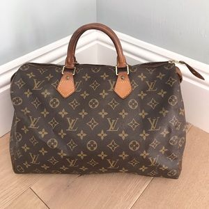 Louis Vuitton Speedy 35💞 AUTHENTIC❇️